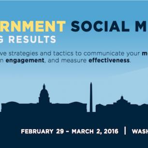 Government Social Media 2016 Training