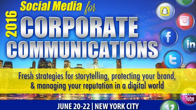 Social Media for Corporate Communications