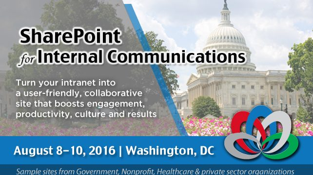 SharePoint for Internal Communications DC