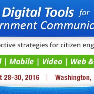 Digital Tools for Government Communicators