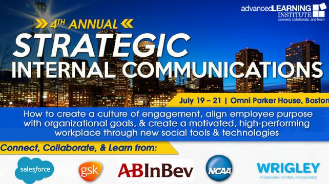 4th Annual Strategic Internal Communications Boston