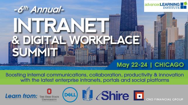 6th Intranet & Digital Workplace Summit