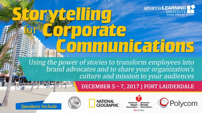 Storytelling for Corporate Communications | Fort Lauderdale