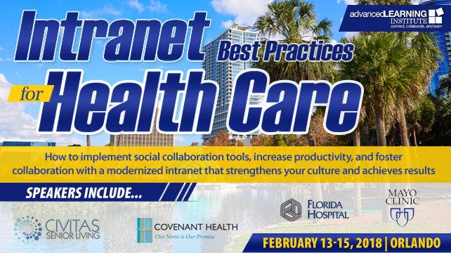 Intranet Best Practices for Health Care | Orlando