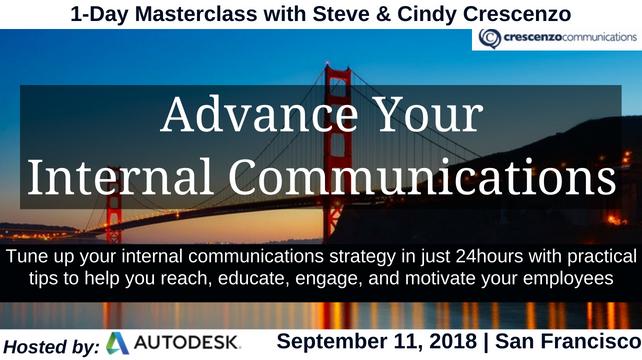 1-Day Masterclass: Advance Your Internal Communications