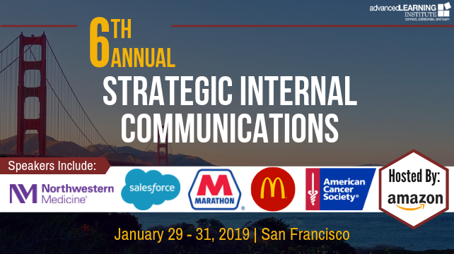 6th Annual Strategic Internal Communications Conference | San Francisco