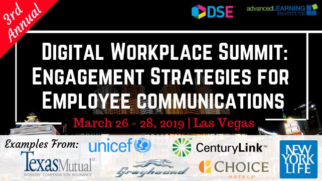 3rd Annual Digital Workplace Summit Las Vegas