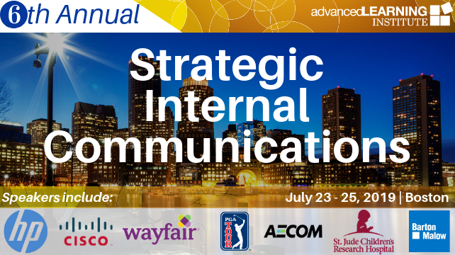 6th Strategic Internal Communications Conference Boston