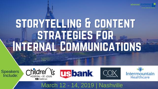 Storytelling & Content Strategies for Internal communications | Nashville
