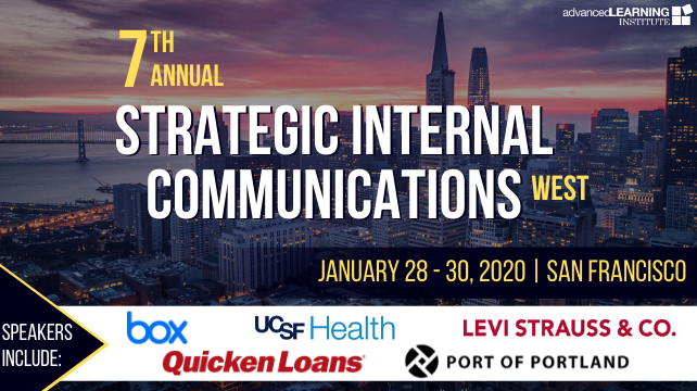 7th Annual Strategic Internal Communications Conference | San Francicso